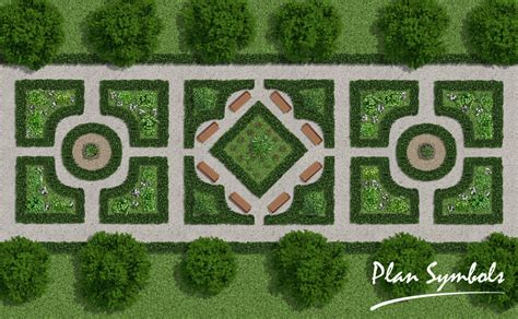 Kb Floor Plans by Landscape Floor Plan By Plan Symbols On Deviantart