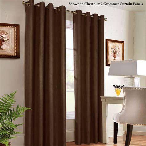 grommet room darkening curtains navar thermaplus room darkening grommet curtain panels