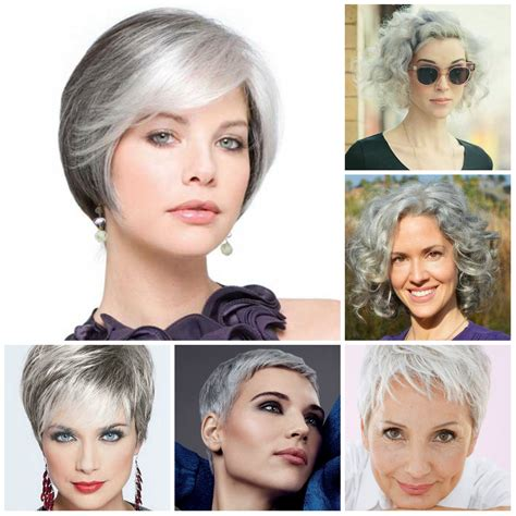 hair trend women ab 40 2015 gorgeous short grey hairstyle ideas for 2016 2017