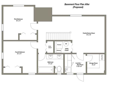 Basement Design Ideas Plans 25 Best Ideas About Basement Floor Plans On Pinterest Basement Plans Basement Office And Offices