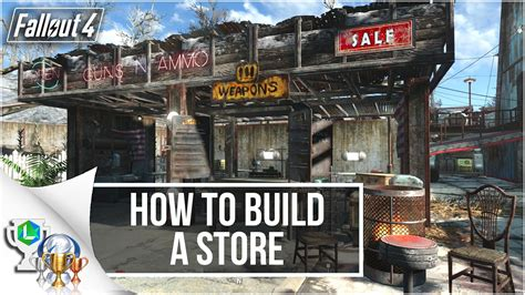 build a shop fallout 4 guide lets build a store settlement build