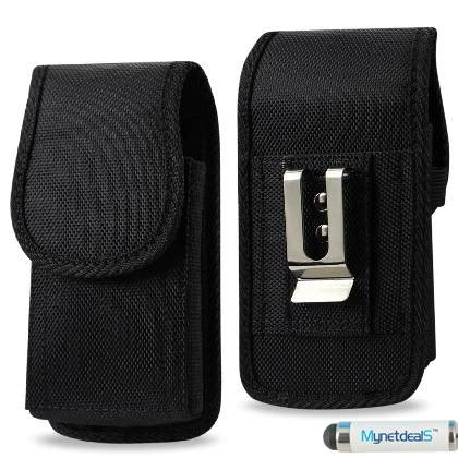 Apple Loop Canvas Iwo Black vertical black heavy duty rugged canvas pouch holster for apple iphone se iphone 5s 5 5c