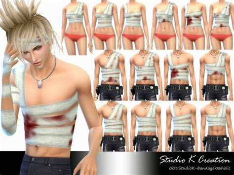 78 best the sims 3 accessories images on pinterest my sims 4 blog hair and bandage accessories for males by