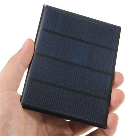 Alarm Silicon Universal universal 12v 1 5w standard epoxy solar panels mini solar