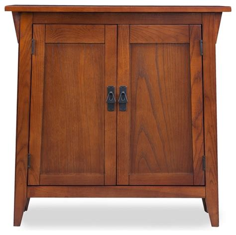 Accent Chest For Foyer Mission Foyer Cabinet With Adjustable Shelf Craftsman