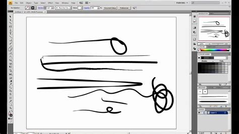 tutorial wacom illustrator how to use the wacom bamboo graphics tablet pressure