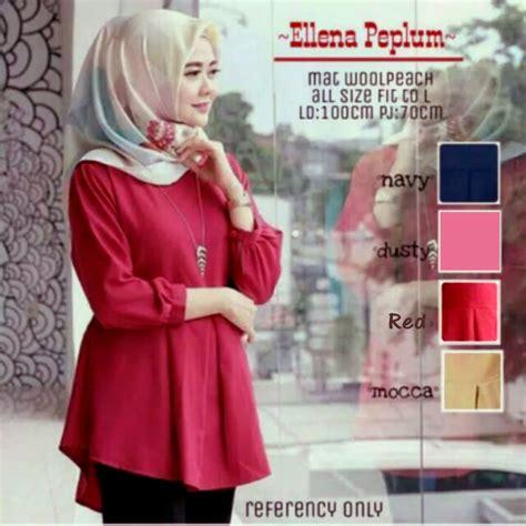 Top Puff Atasan Wanita shop grosir baju muslim murah i jual baju muslim murah i