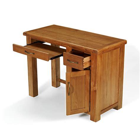 ebay small computer desk solid oak furniture small office pc computer desk