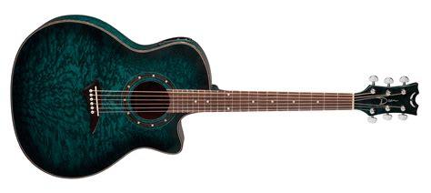 blue dean exotica quilt ash a e trans blue satin dean guitars