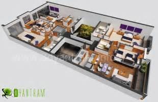 lovely 3d virtual tour house plans #6: 3d-office-floor-plan