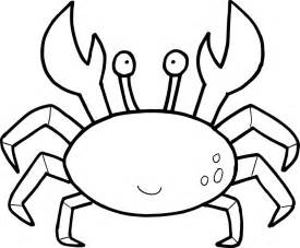 crab colouring pages kids coloring europe travel guides