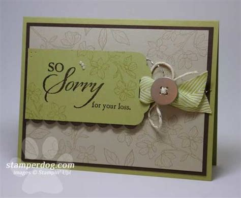 how to make funeral cards tips for sympathy cards stin up demonstrator
