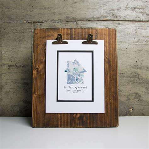 Personalized Apartment Gifts Our Apartment Personalized Map Gift Place Gift