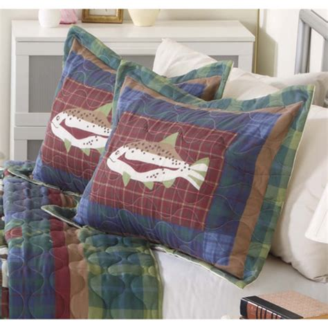Walmart Bedspreads And Quilts by Mainstays Quilt Collection Fishing Walmart