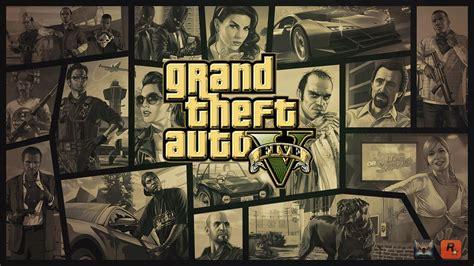 wallpaper game gta v grand theft auto v gold logo wallpaper by eduard2009 on