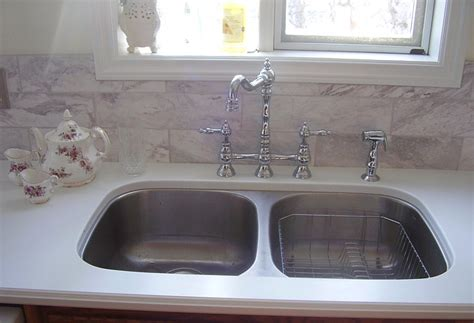 White Corian Countertop by Photos Andrew S Cabinetmaking Design