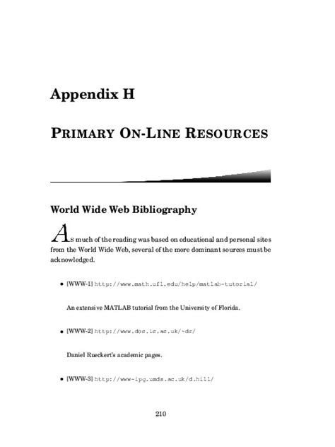 appendix in dissertation page previews ph d thesis