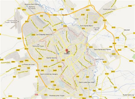 troyes map troyes map