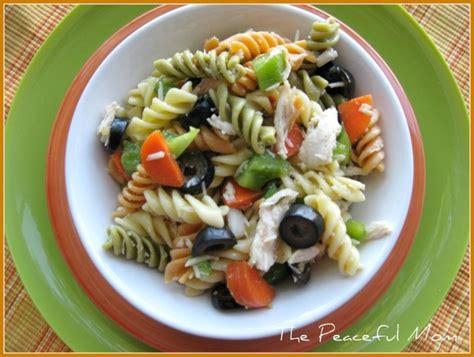 chicken pasta salad italian chicken pasta salad