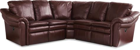 3 pc sectional sofa devon 3 pc reclining corner sectional sofa by la z boy