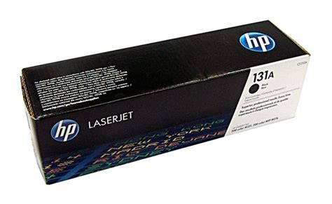 Hp 131a Black Cf210a Original Laserjet Toner Cartridge Toner Hp Laserjet Cf210a 131a Black Original