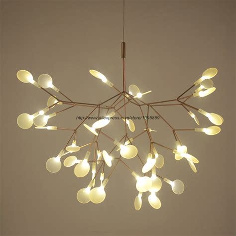 tree branch ceiling light fixture cherry blossoms led chandelier light modern ceiling