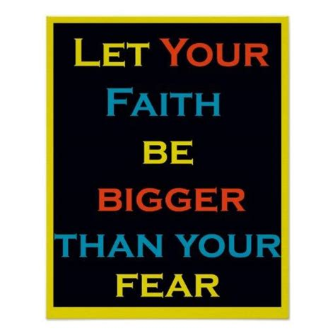 let your faith be bigger than your fear tattoo let your faith be bigger than your fear from zazzle