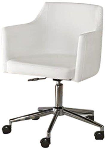 White Swivel Desk Chair by Furniture Signature Design Baraga Home Office