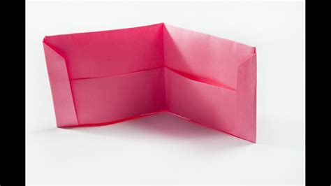 How To Make A Wallet Out Of Paper - how to make a paper purse origami wallet
