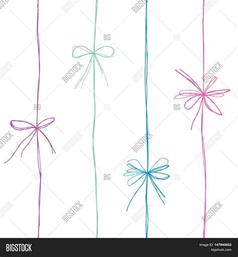 seamless ribbon pattern bow seamless pattern bow ribbon image photo bigstock