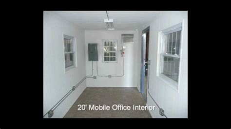 Home Office Design Youtube 20 Amp 40 Mobile Office Shipping Container Office Youtube