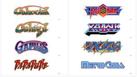 Namco's Badass Retro Arcade Game Logos   Kotaku Australia