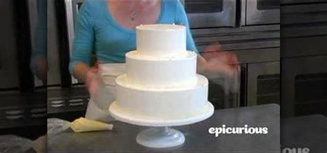 How to Decorate a wedding cake with piping swag « Cake