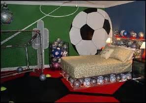 modern football bedroom theme design and decor ideas for