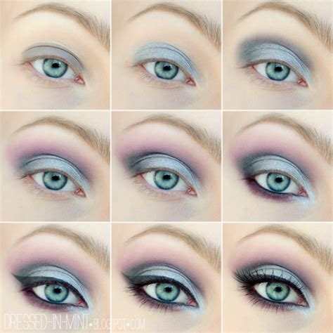 eyeliner tutorial for blue eyes smokey eye makeup tutorial for blue eyes