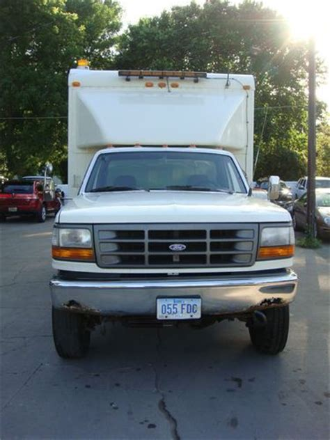 how does a cars engine work 1993 ford f350 auto manual find used 1993 ford f350 dually hunting storm chaser work box truck no reserve in des