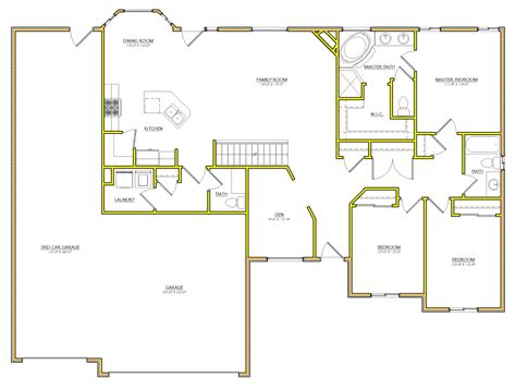 floor plans utah 24 spectacular rambler house plans utah house plans 54091