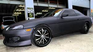 lexus sc400 rolling staggered 20 inch lexani lss10 wheels