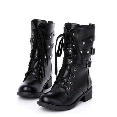 get cheap black combat boots aliexpress
