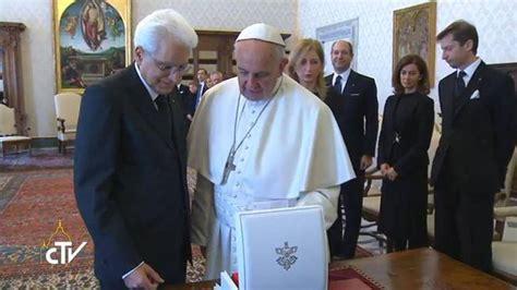 papa francesco santa sede mattarella in visita a papa francesco tra santa sede e