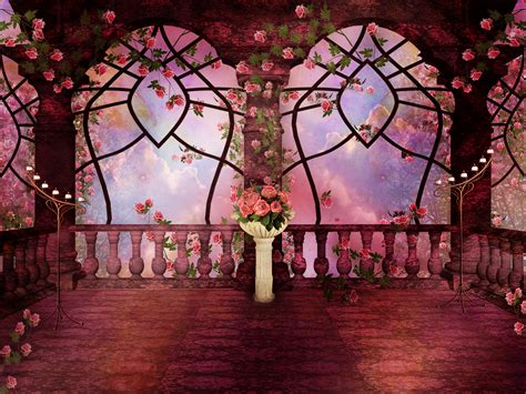 wallpaper gothic pink pink rose gothic fantasy full hd wallpaper and background