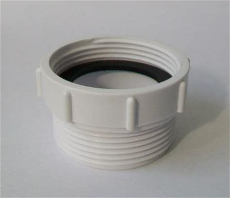 Waste Thread Extension Adaptor Euro to UK   Basin