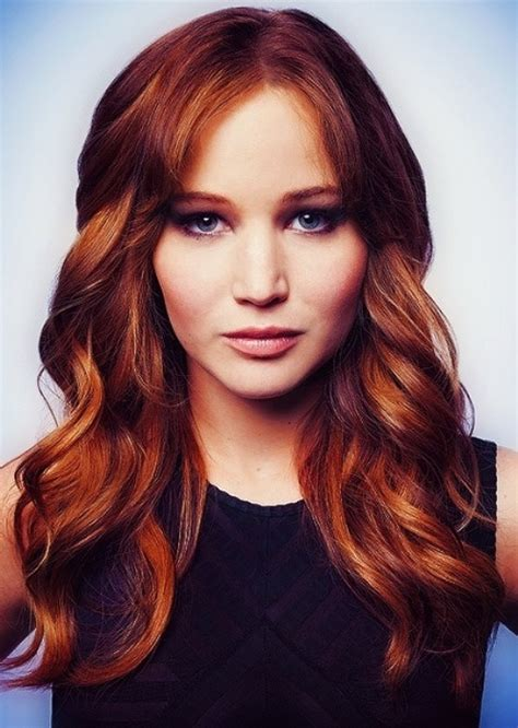 jennifer lawrence hair co or for two toned pixie 50 best red hair color ideas herinterest com