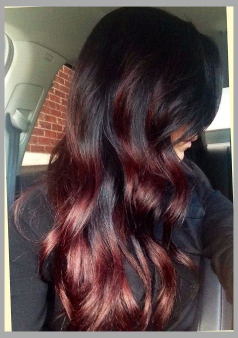 burgandy caramel and brown highlights best hair highlights ideas hair color trends for 2016