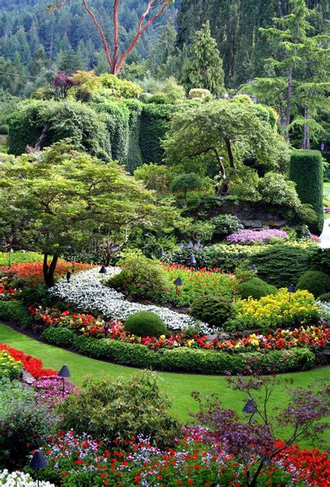 bei giardini bei giardini di butchart isola di vancouver cana