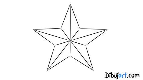 imagenes para dibujar a lapiz estrellas c 243 mo dibujar una estrella paso a paso dibujart com