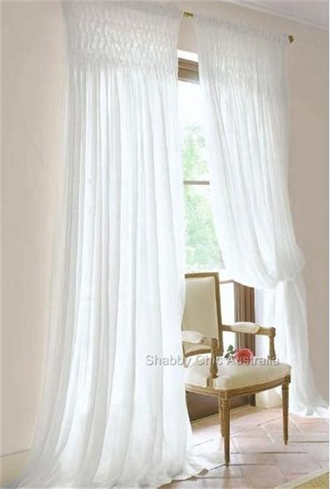 Htons French Provincial Curtains Drapery 2 White