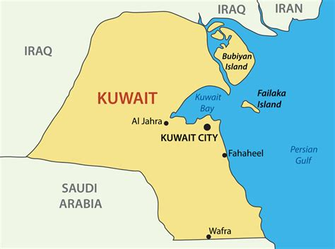 middle east map showing kuwait teaching in the middle east dynamic personnel