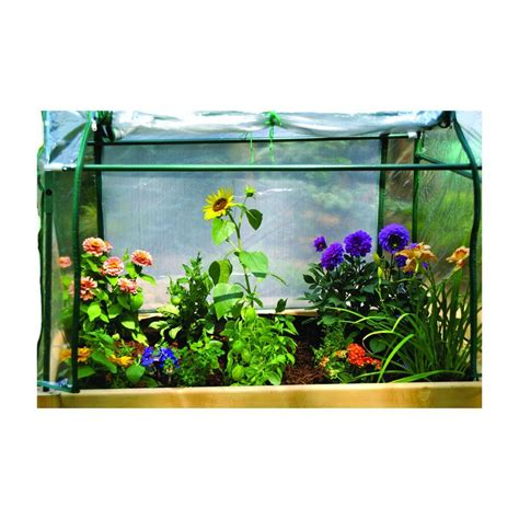 eden  ft   ft plastic raised garden table optional