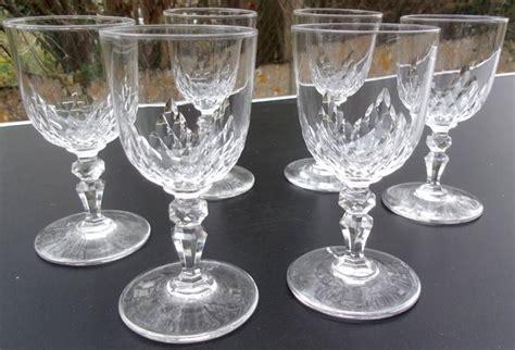 bicchieri baccarat prezzi baccarat 6 bicchieri da bianchi modello richelieu
